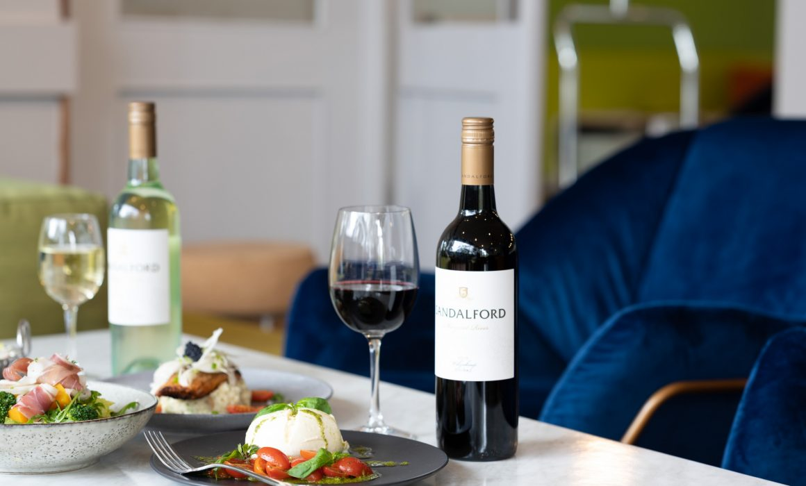 Dinner with Sandalford wine